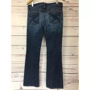 7 For All Mankind Flynt Jeans 29 / 32x31 7FAM